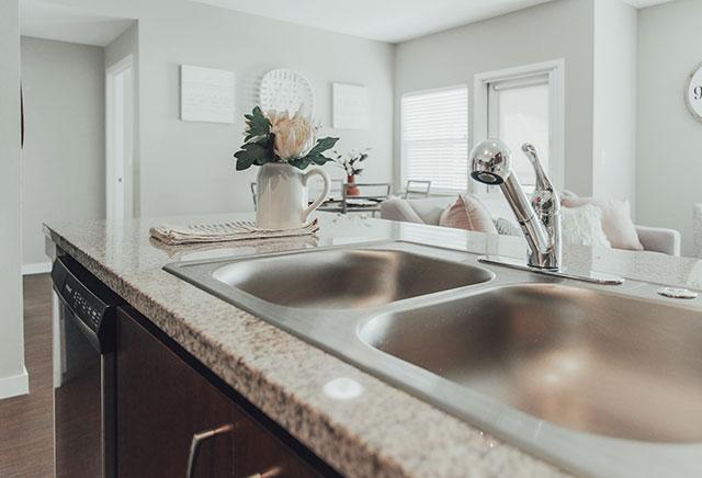 Stevens Creek Apartments Kitchen