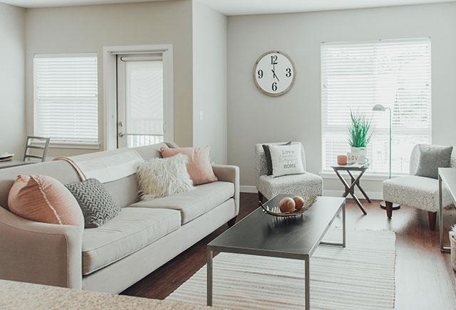 Stevens Creek Apartments Living